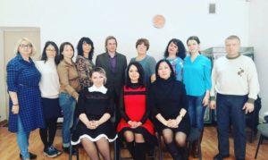 28 Первый выпуск 3 ступени гештальтистов в Алматы!